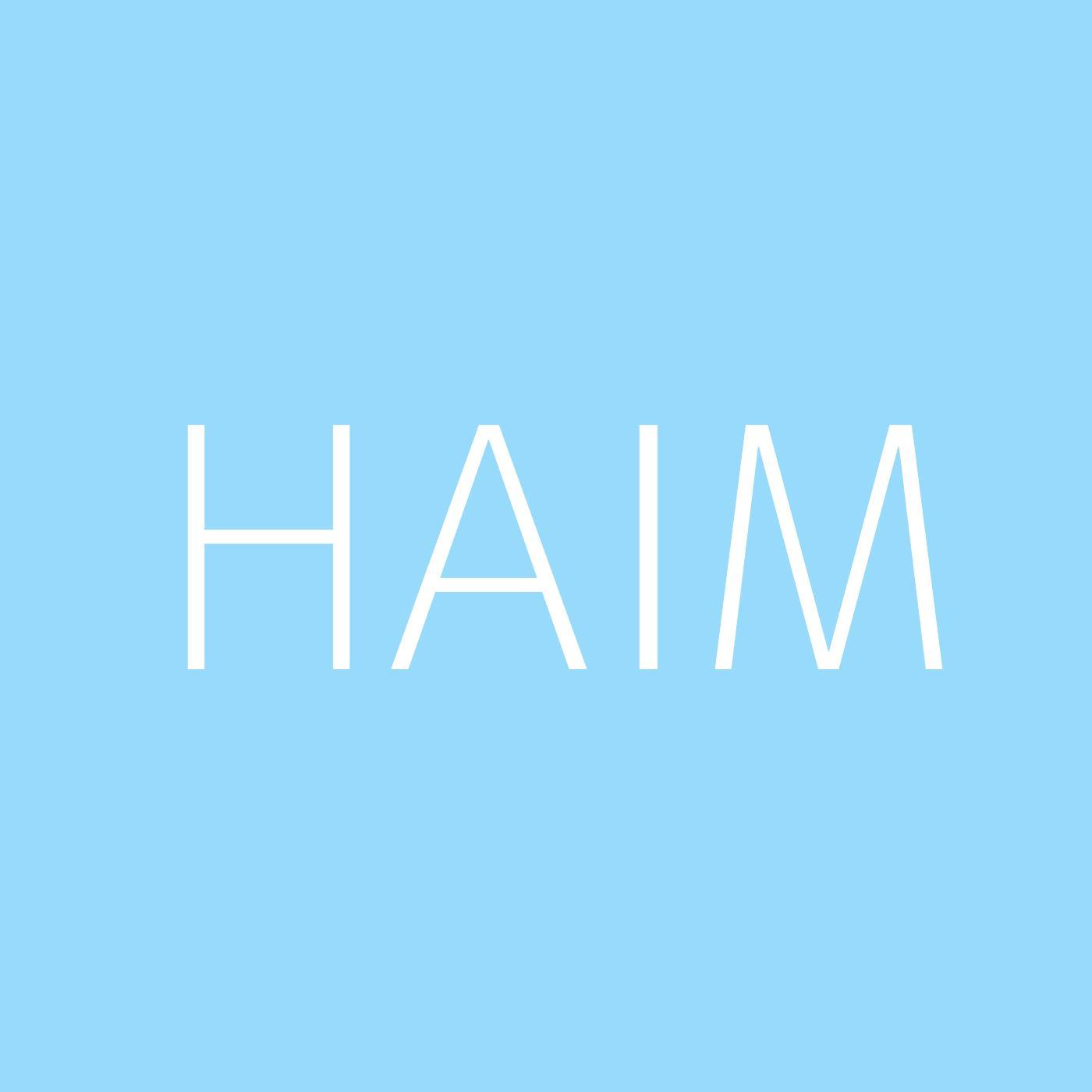 HAIM Playlist Artwork