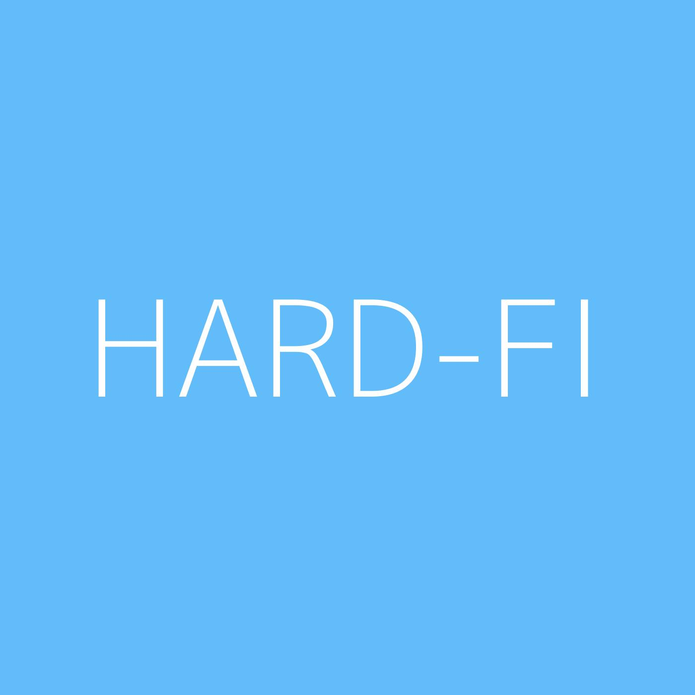 Hard-FI Playlist Artwork