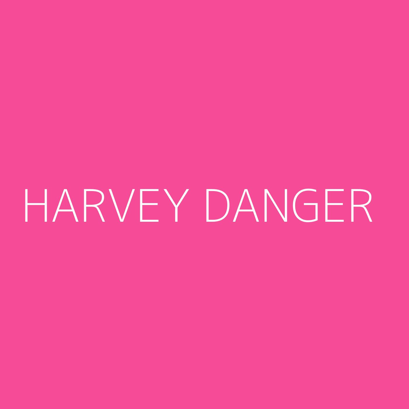 Harvey Danger Playlist Artwork