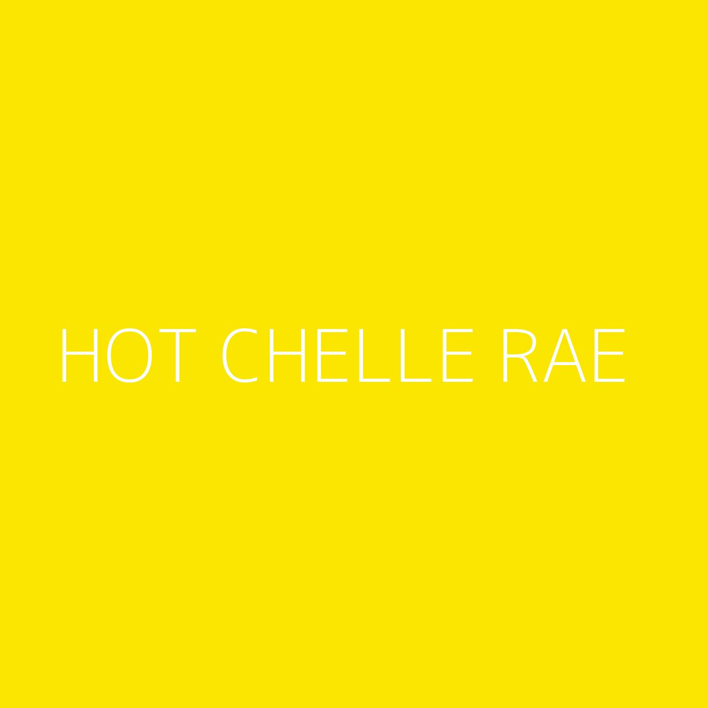Hot Chelle Rae Playlist Artwork