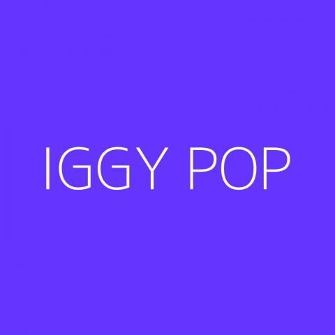 Iggy Pop Playlist – Most Popular