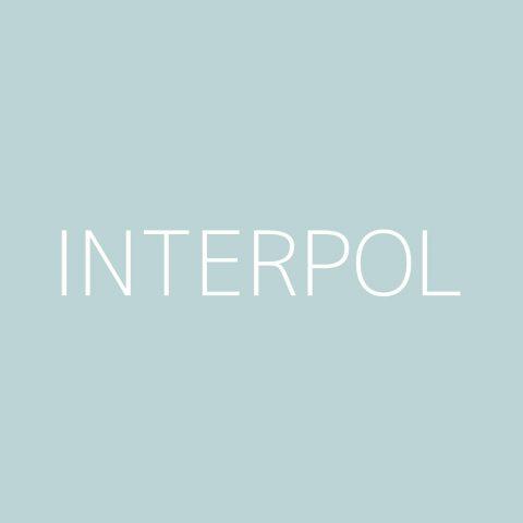 Interpol Playlist – Most Popular