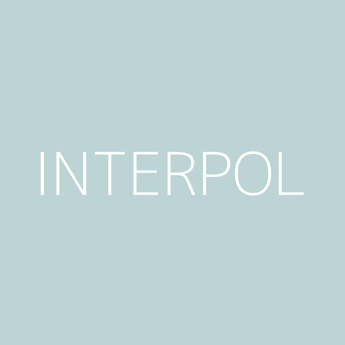 Interpol Playlist Artwork