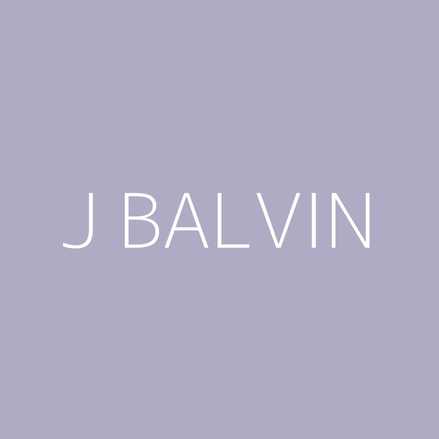 J Balvin Playlist Artwork