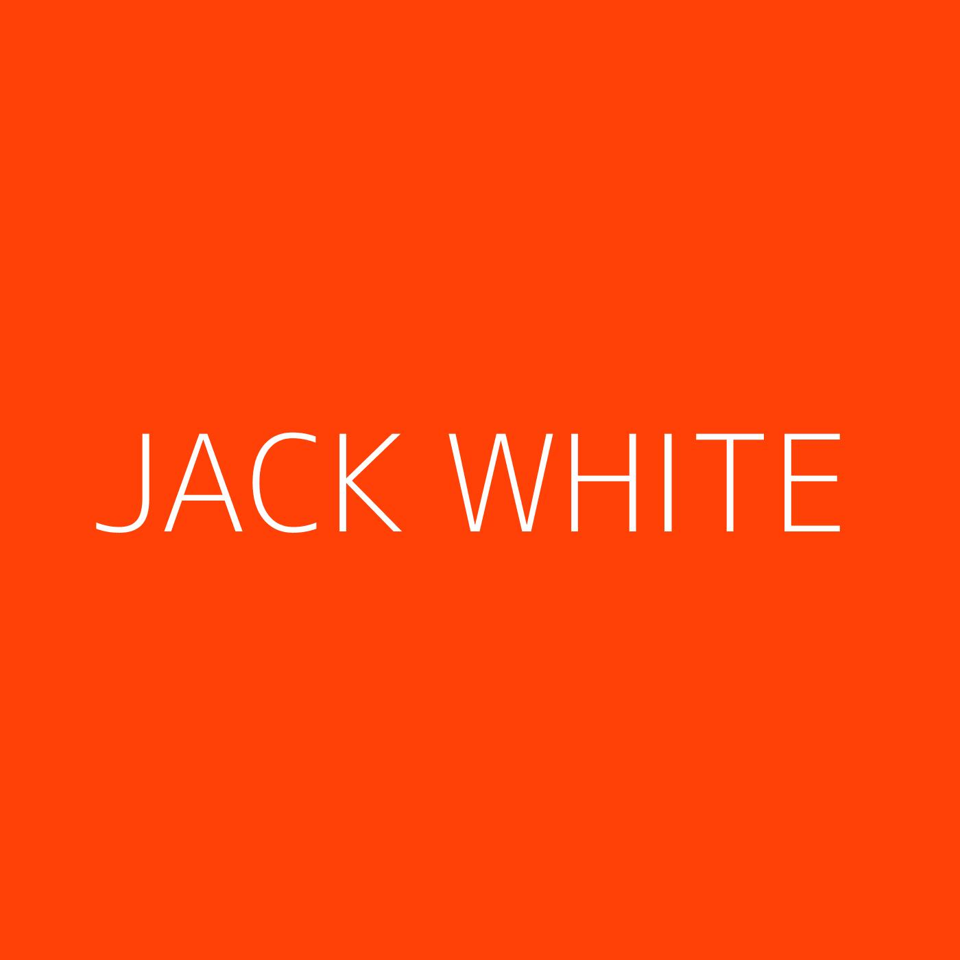 Jack White Playlist Artwork