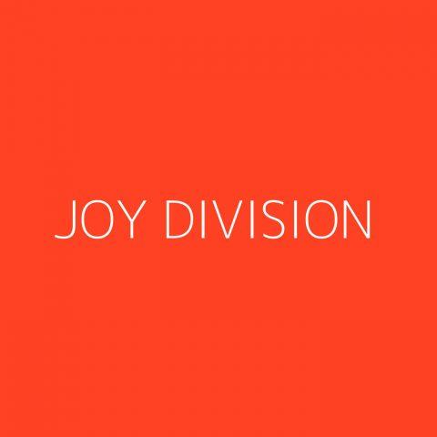 Joy Division Playlist – Most Popular