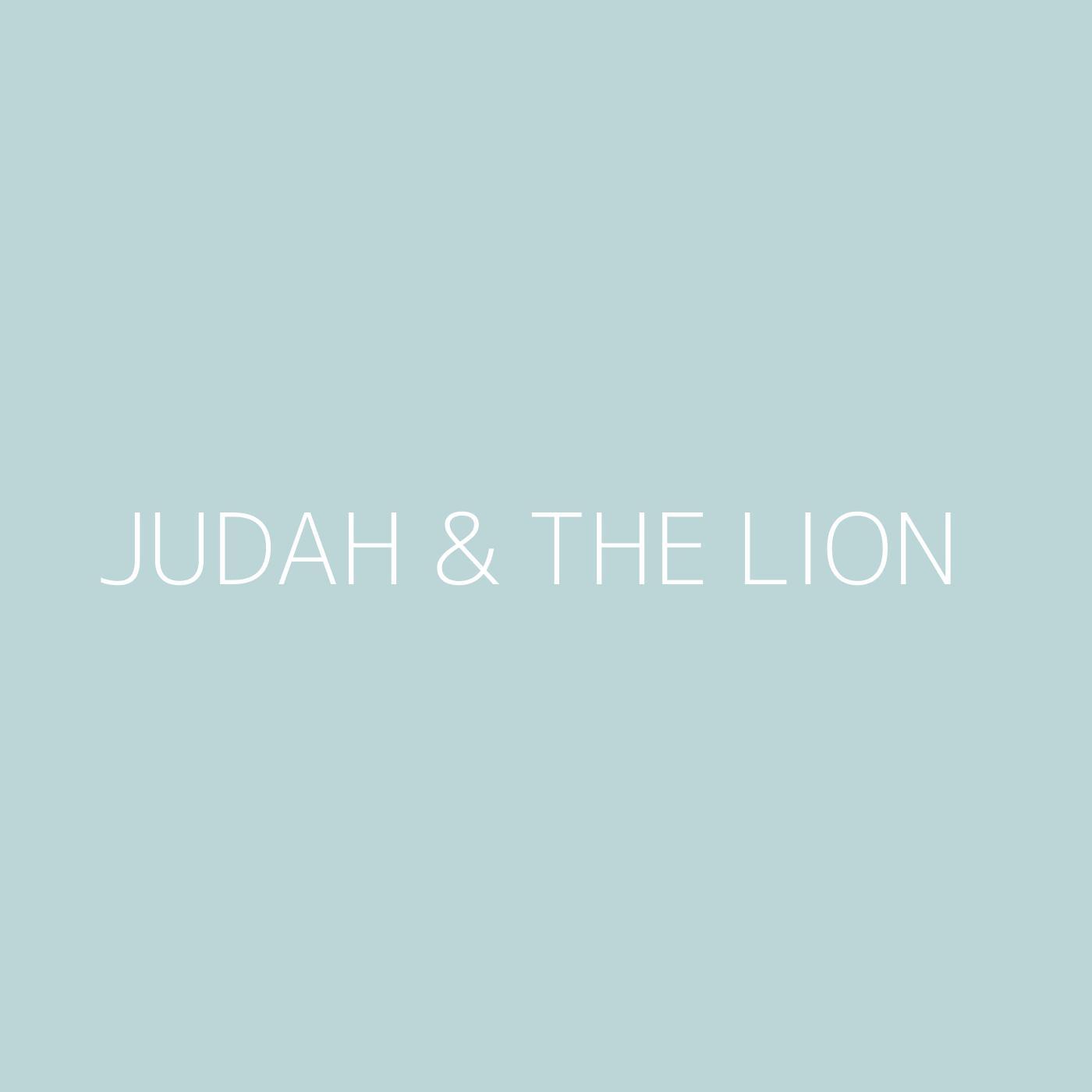 Judah & the Lion Playlist Artwork