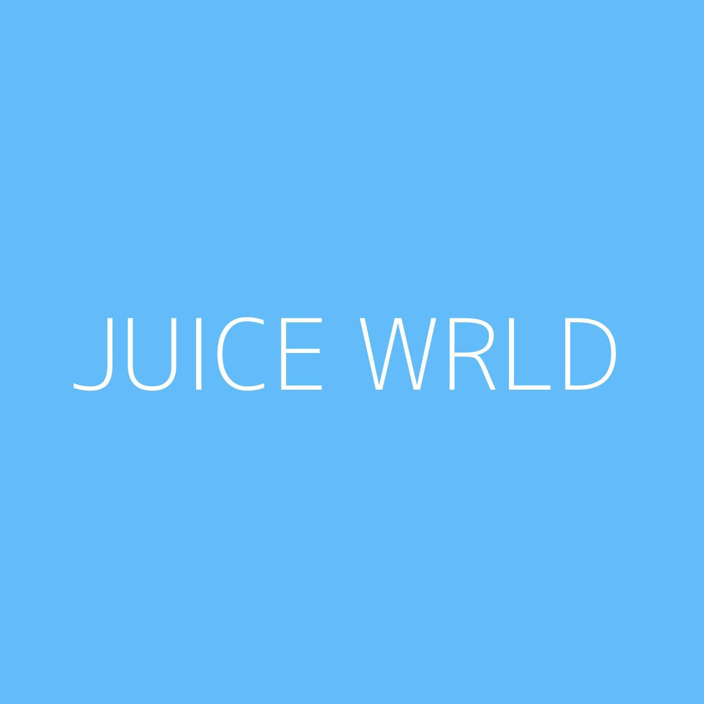 Juice WRLD Playlist Artwork