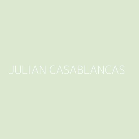 Julian Casablancas Playlist – Most Popular