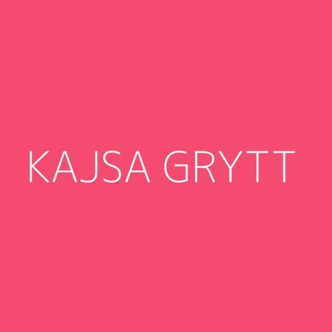 Kajsa Grytt Playlist – Most Popular