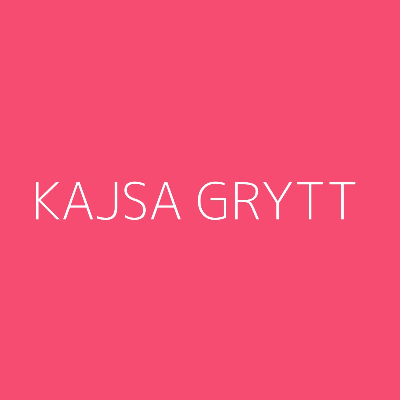 Kajsa Grytt Playlist Artwork