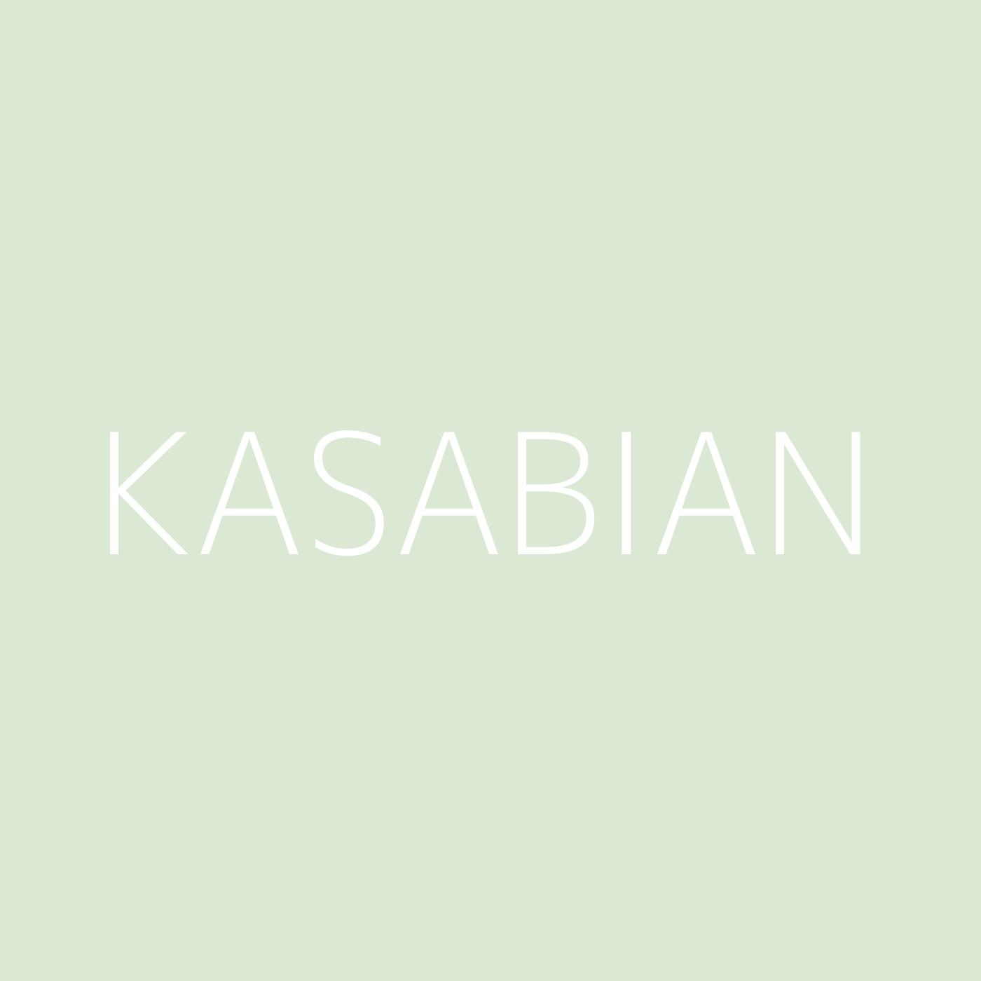 Kasabian Playlist Artwork
