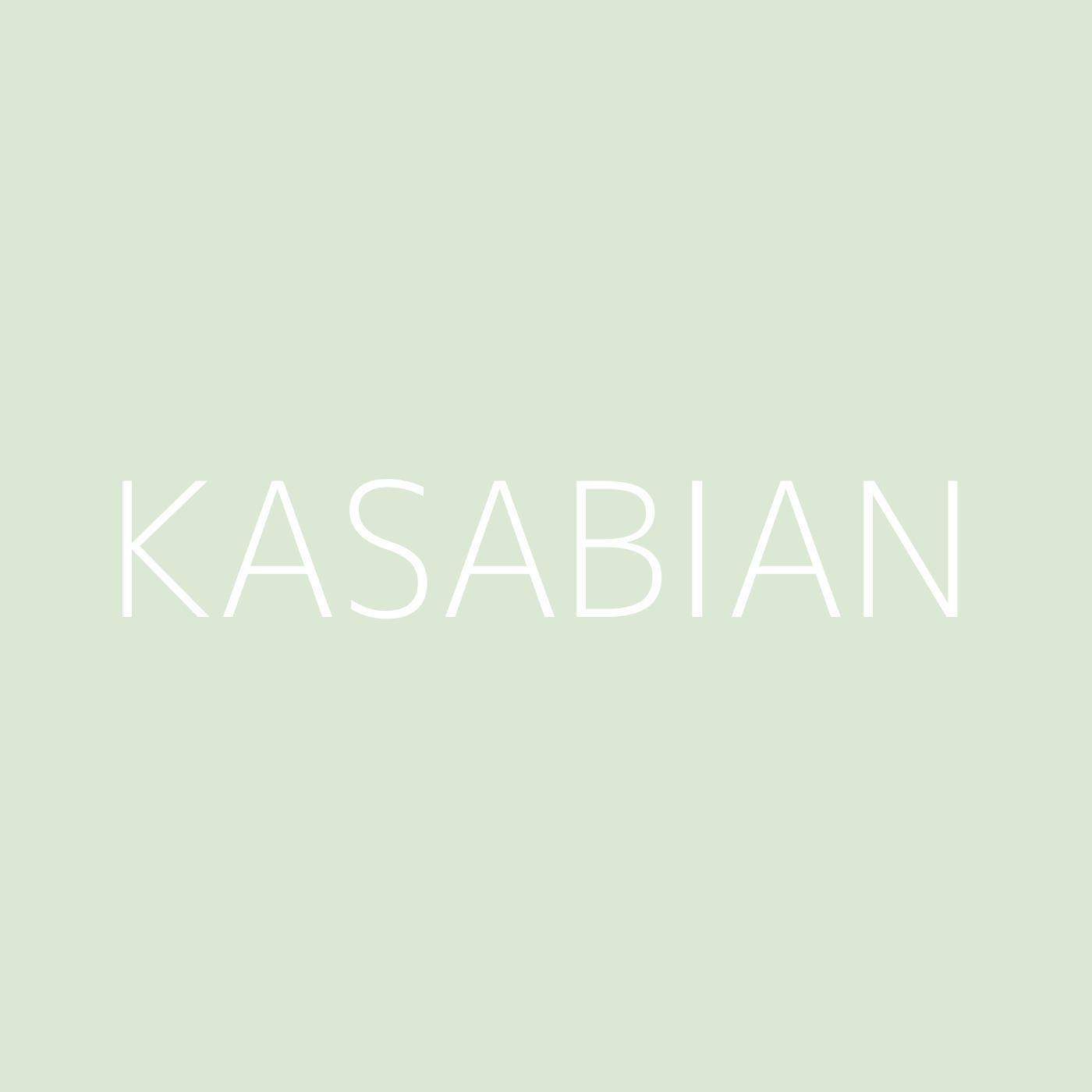 Kasabian Playlist Artwork