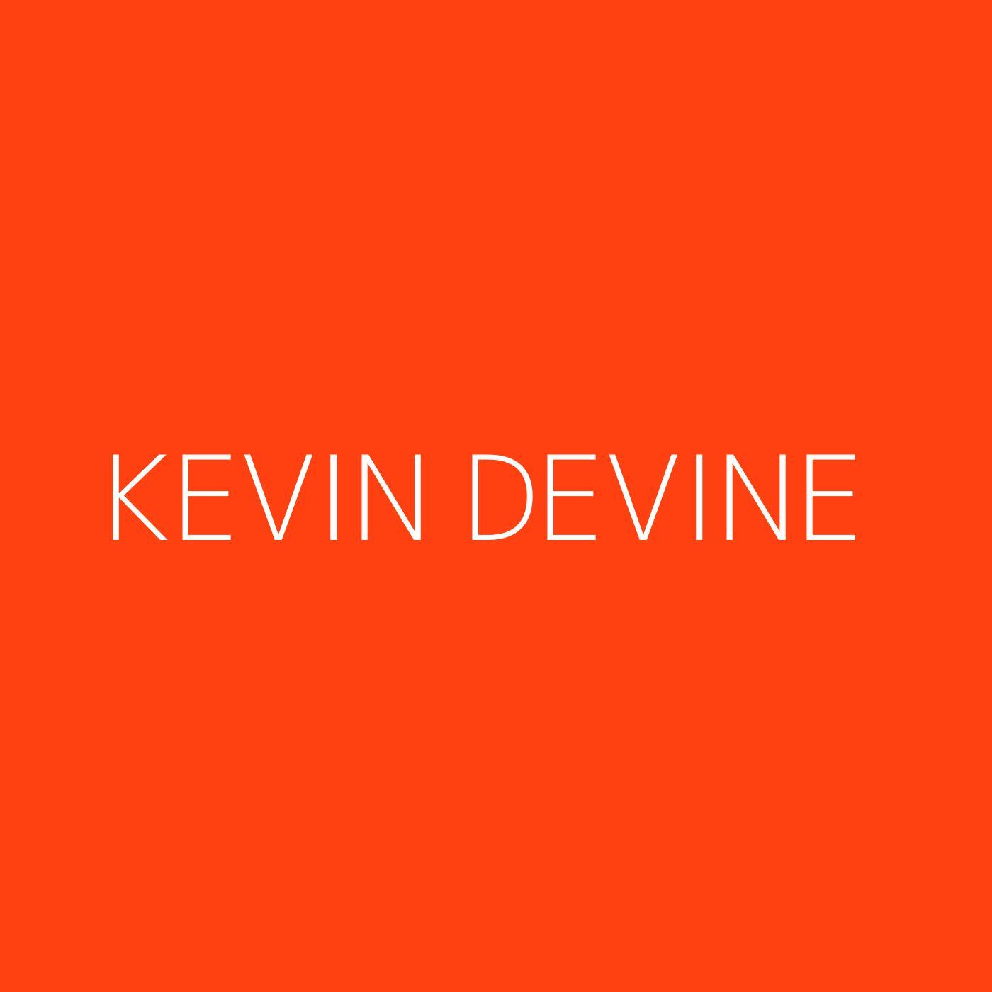 Kevin Devine Playlist Artwork
