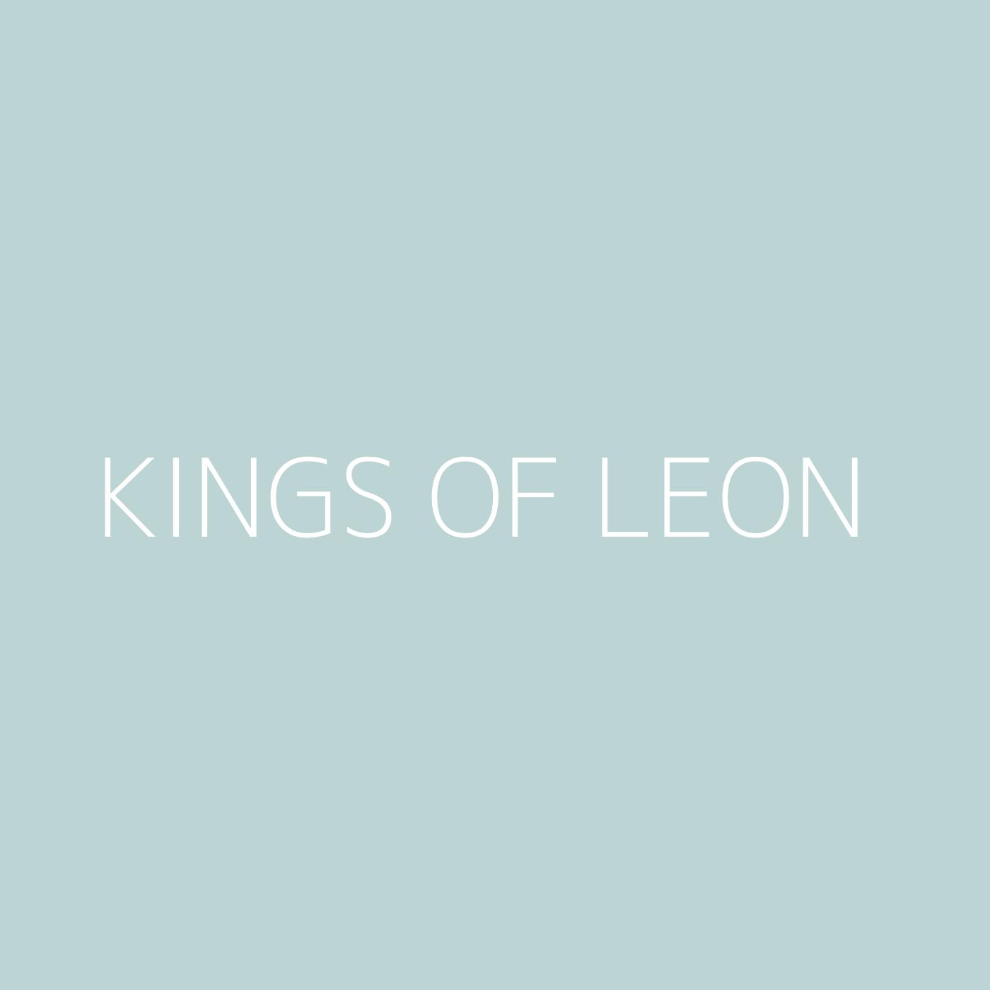 Kings of Leon Playlist Artwork