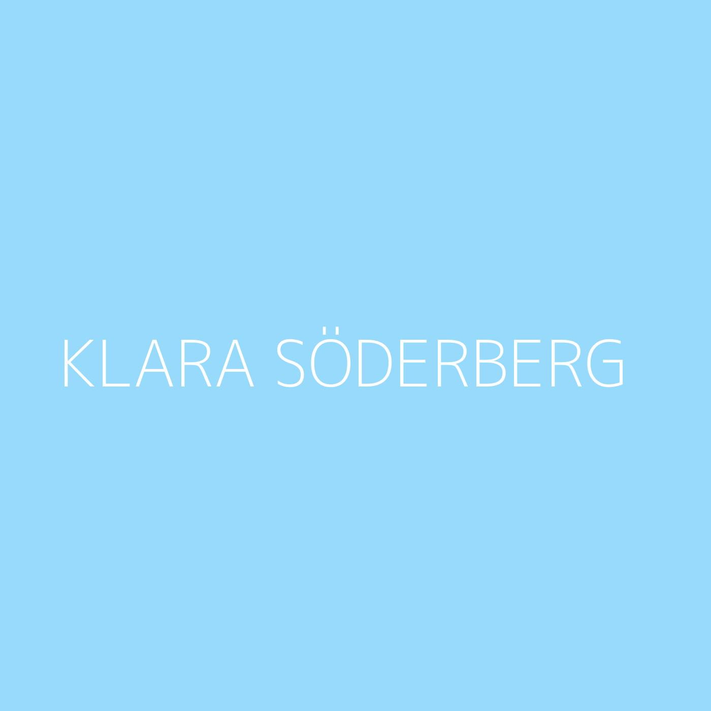 Klara Söderberg Playlist Artwork