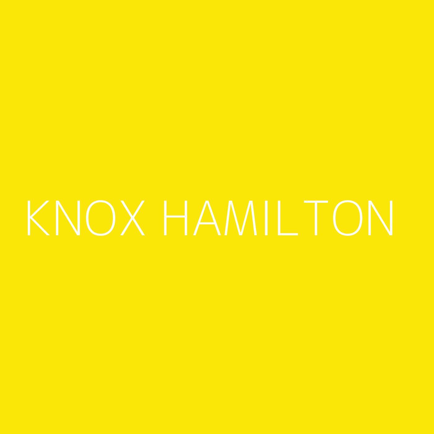 Knox Hamilton Playlist Artwork