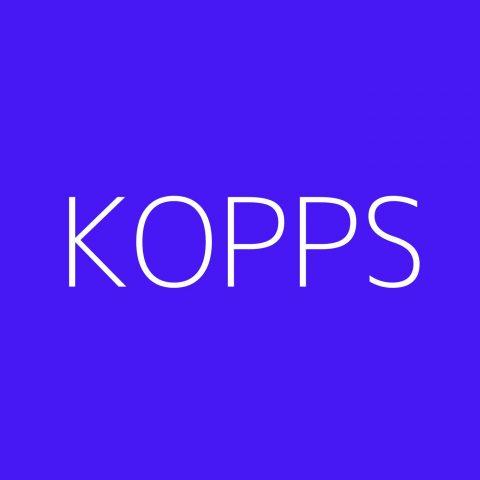 KOPPS Playlist – Most Popular