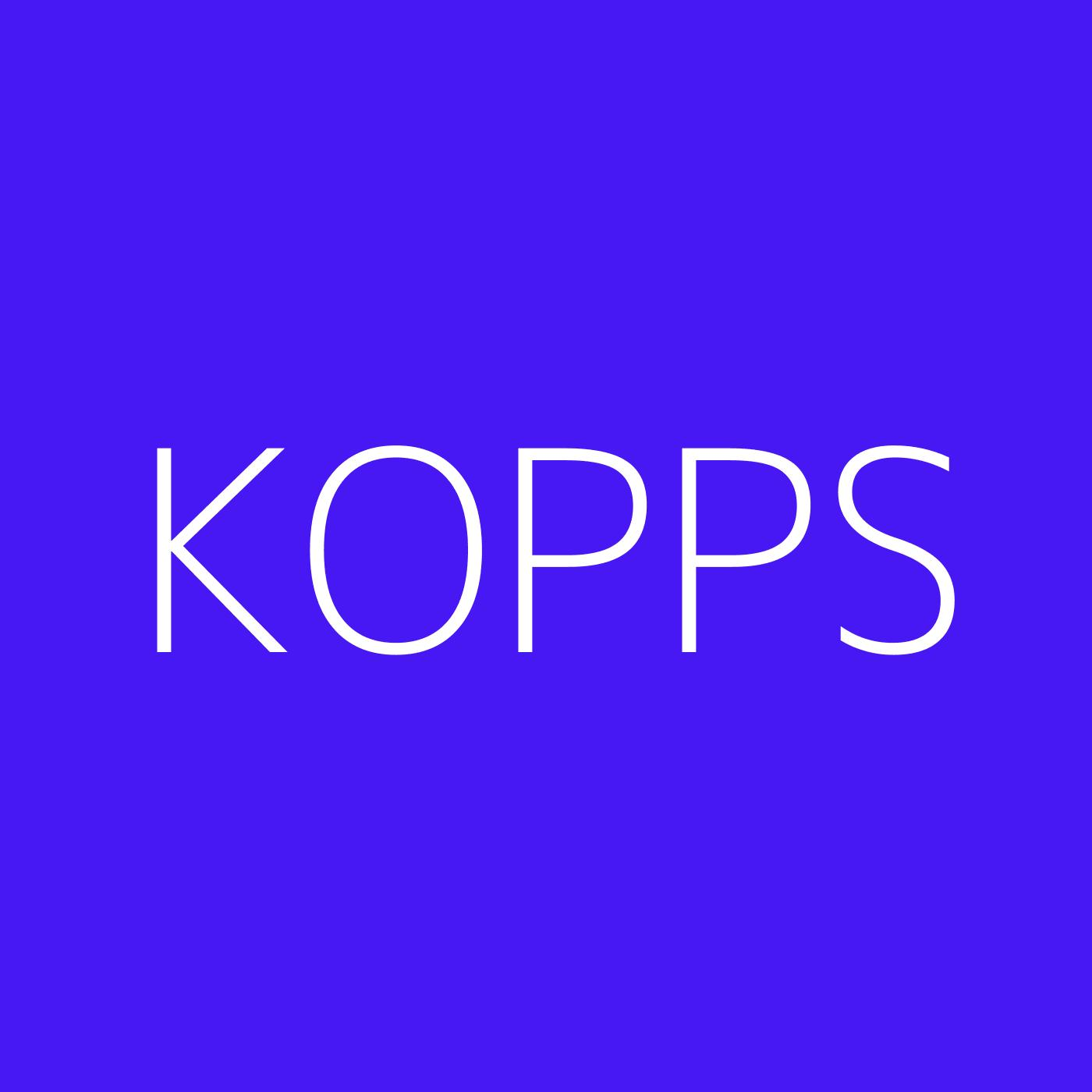 KOPPS Playlist Artwork