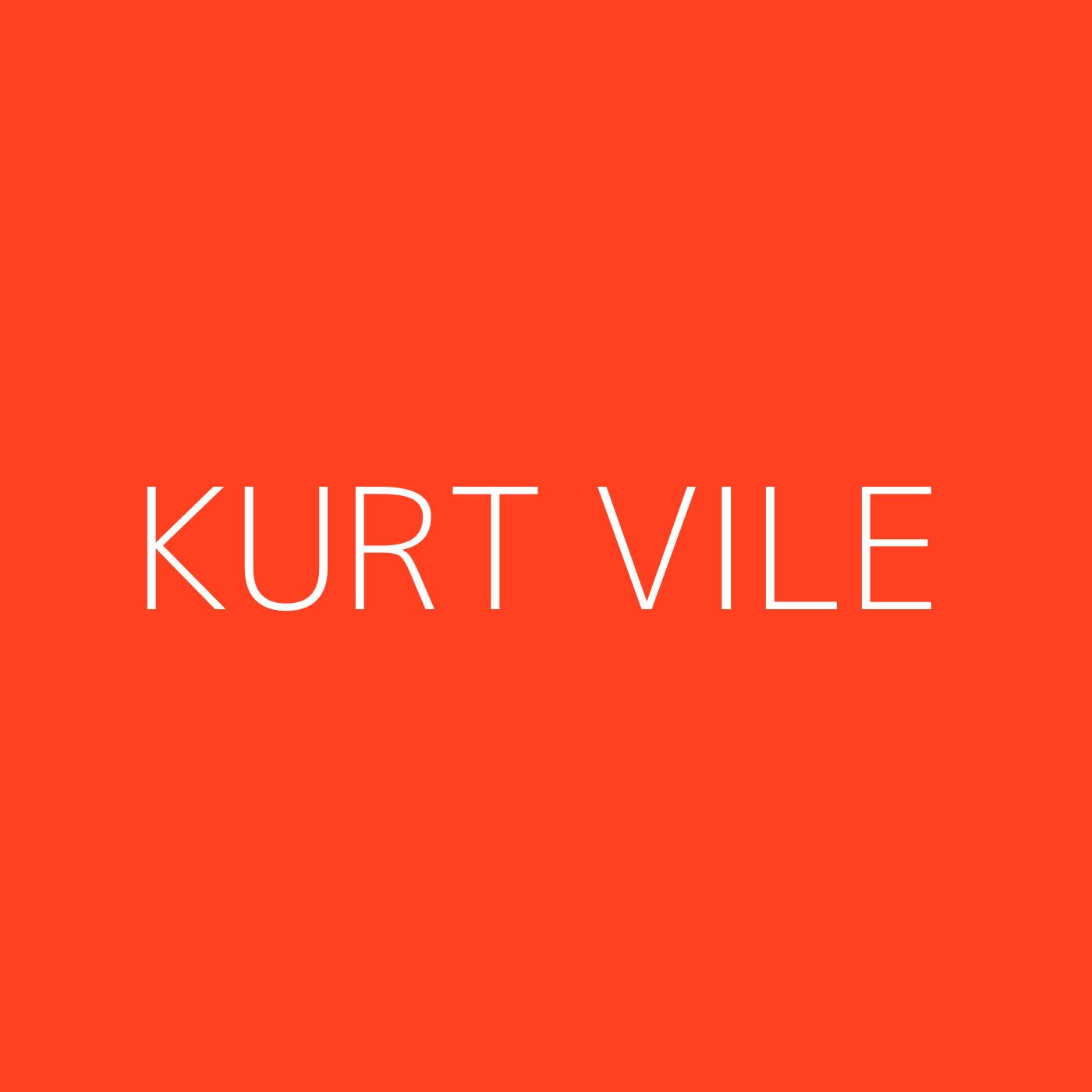 Kurt Vile Playlist Artwork