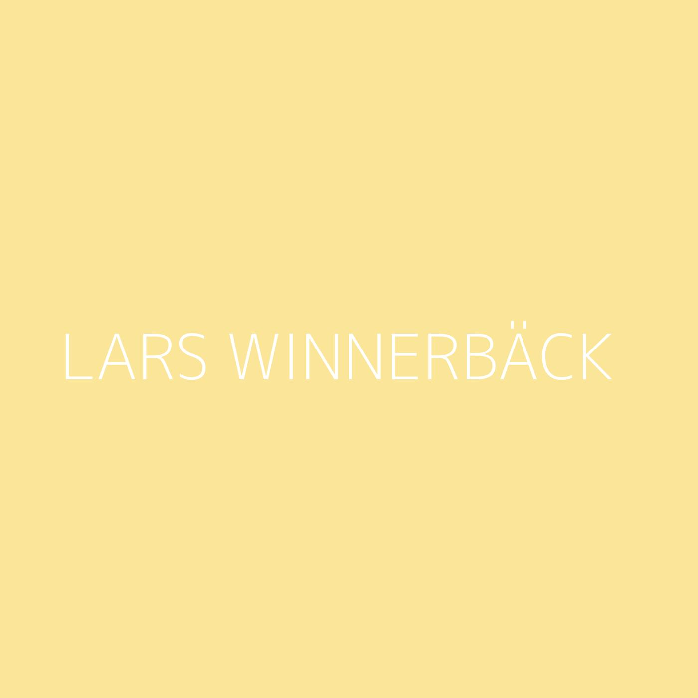 Lars Winnerbäck Playlist Artwork
