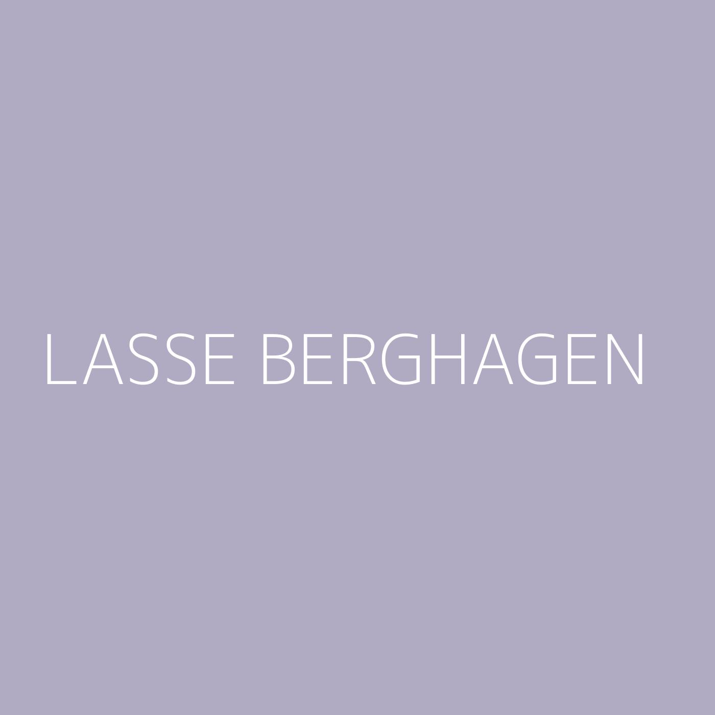 Lasse Berghagen Playlist Artwork
