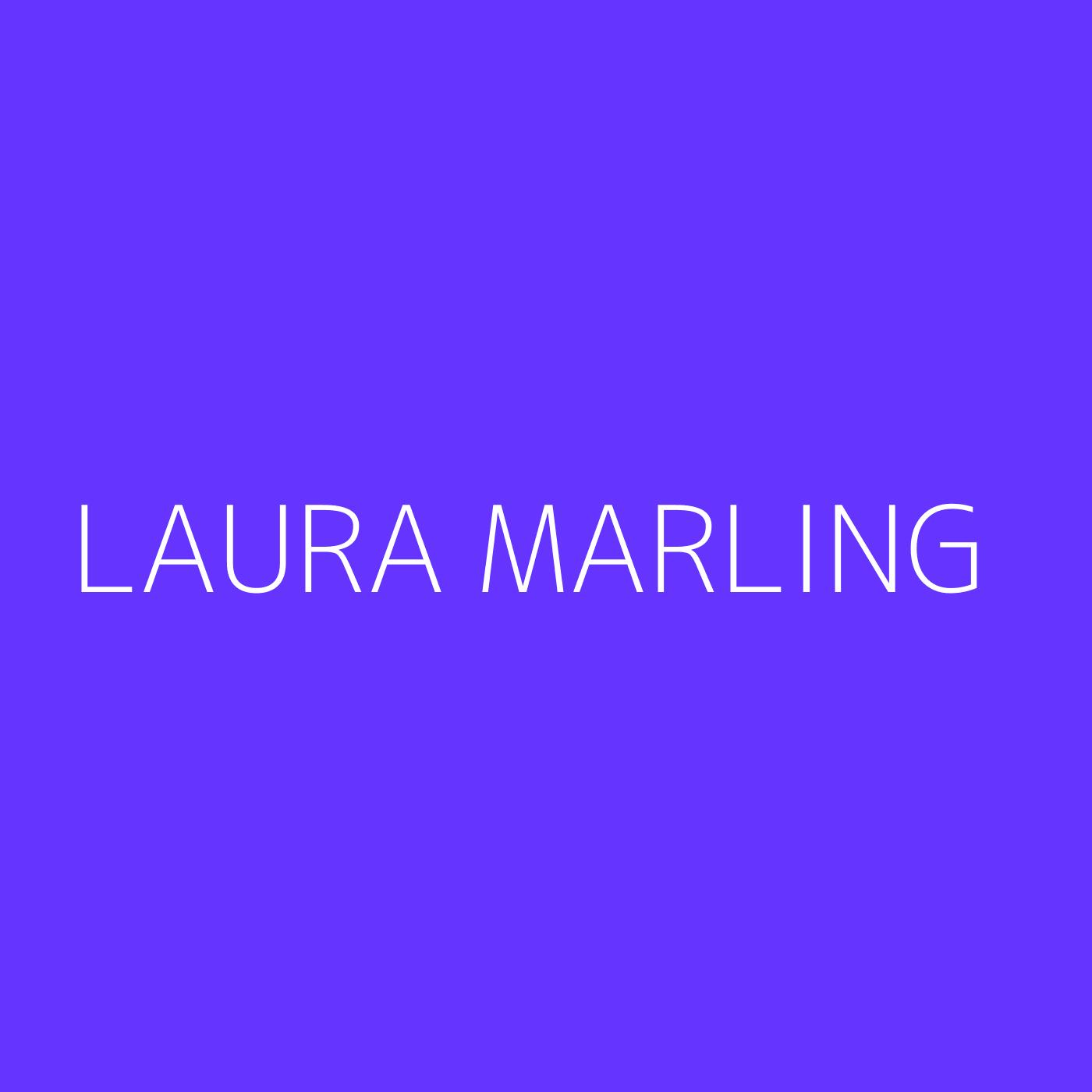 Laura Marling Playlist Artwork