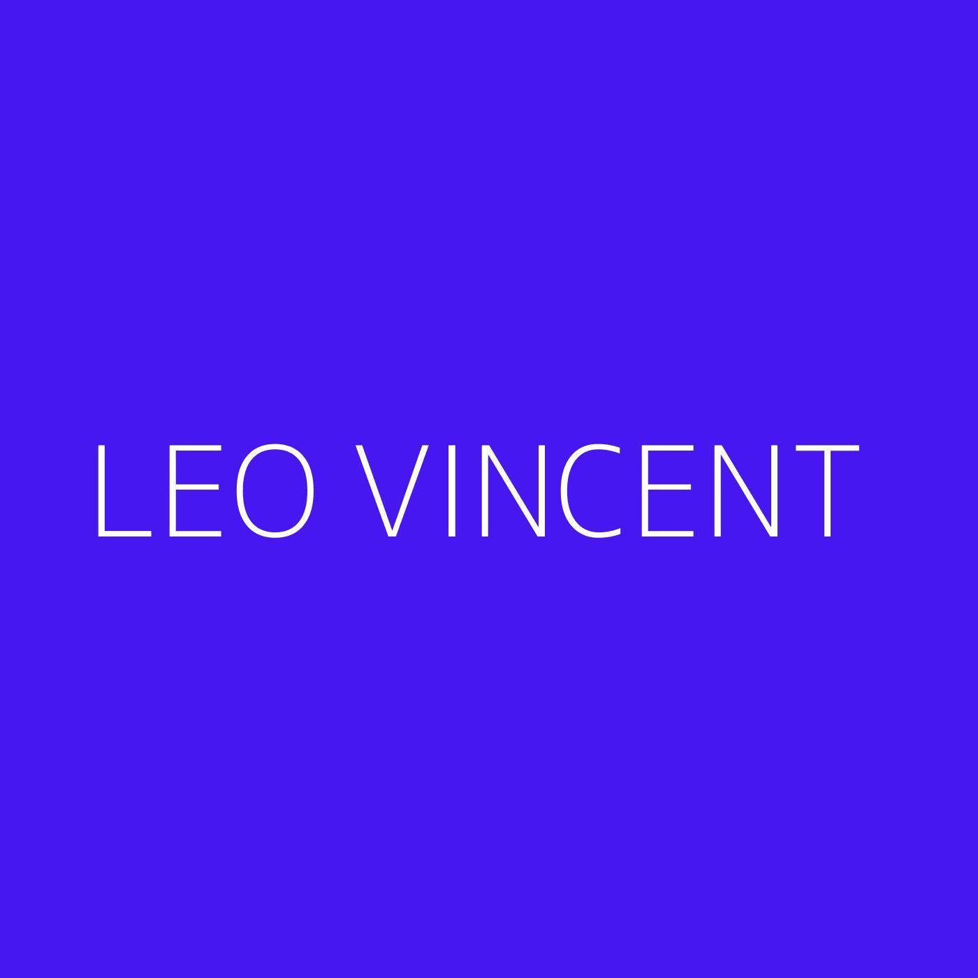 Leo Vincent Playlist Artwork