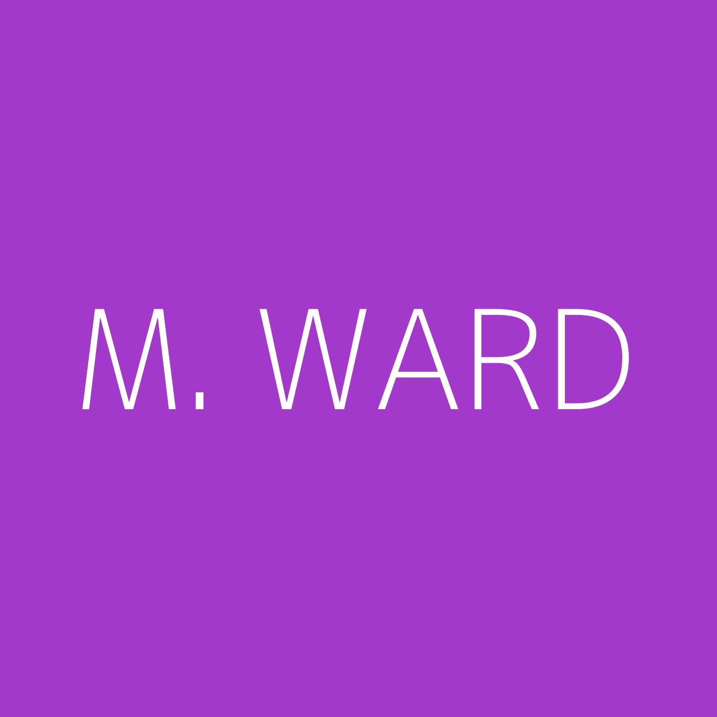 M. Ward Playlist Artwork