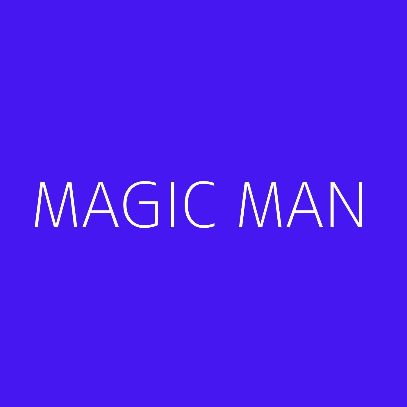 Magic Man Playlist Artwork