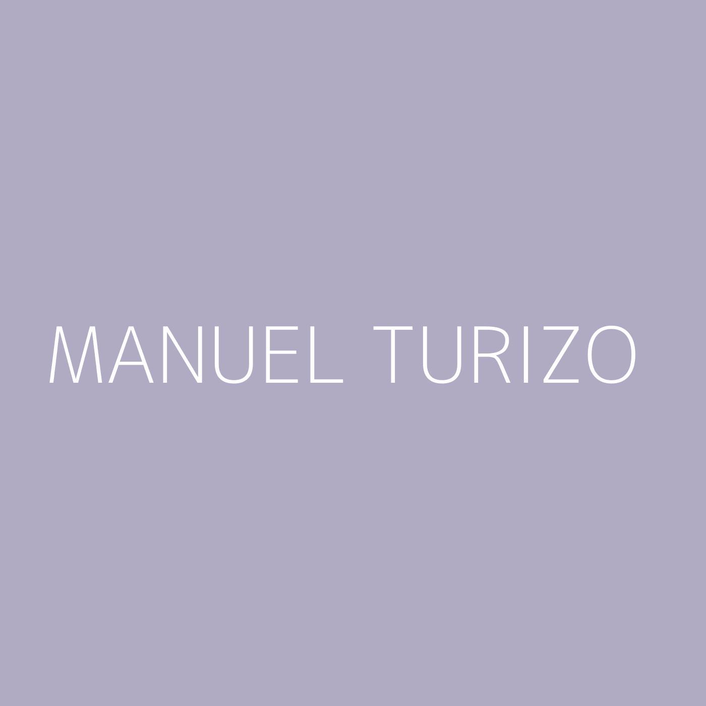 Manuel Turizo Playlist Artwork
