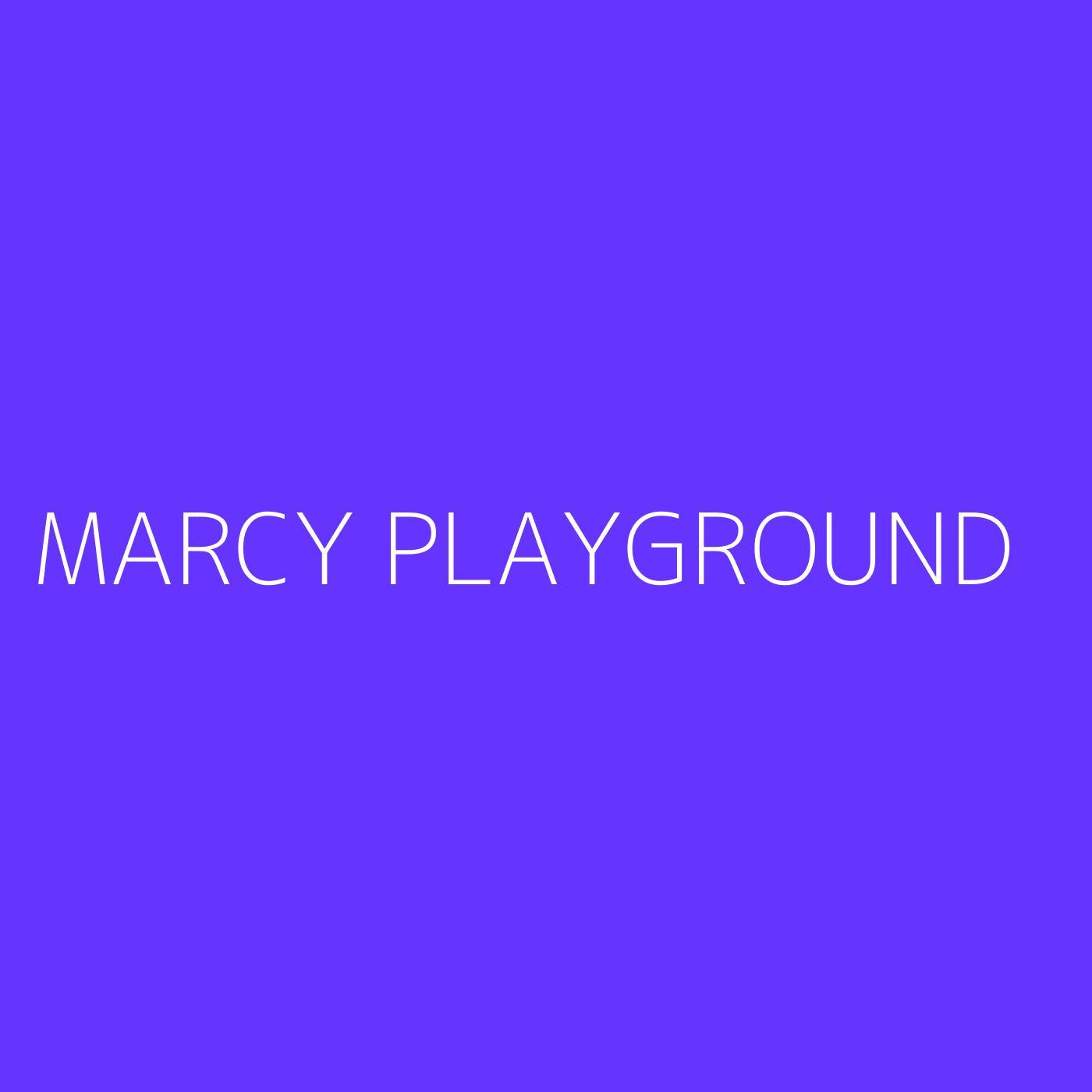 Marcy Playground Playlist Artwork