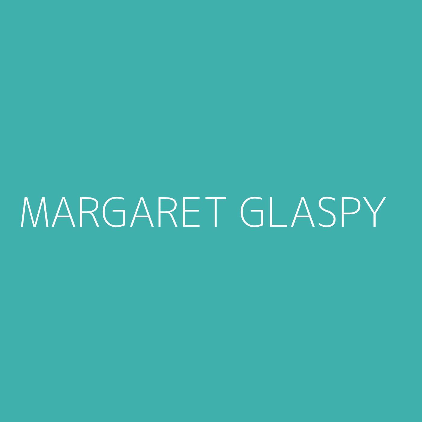Margaret Glaspy Playlist Artwork