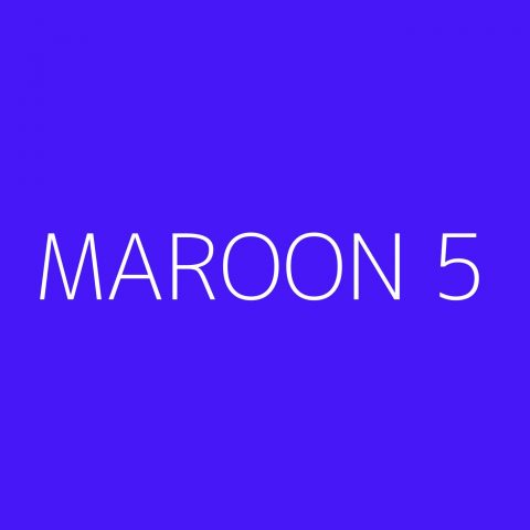 Maroon 5 Playlist – Most Popular