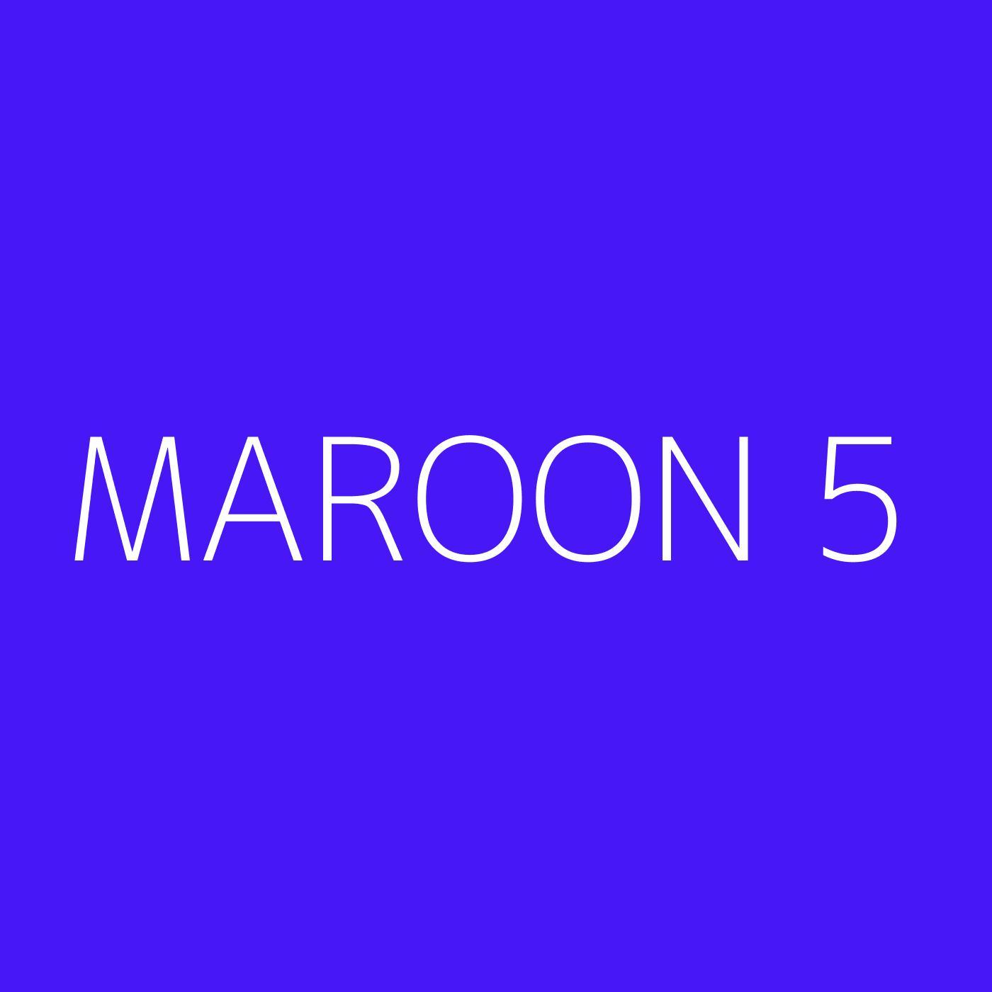 Maroon 5 Playlist Artwork