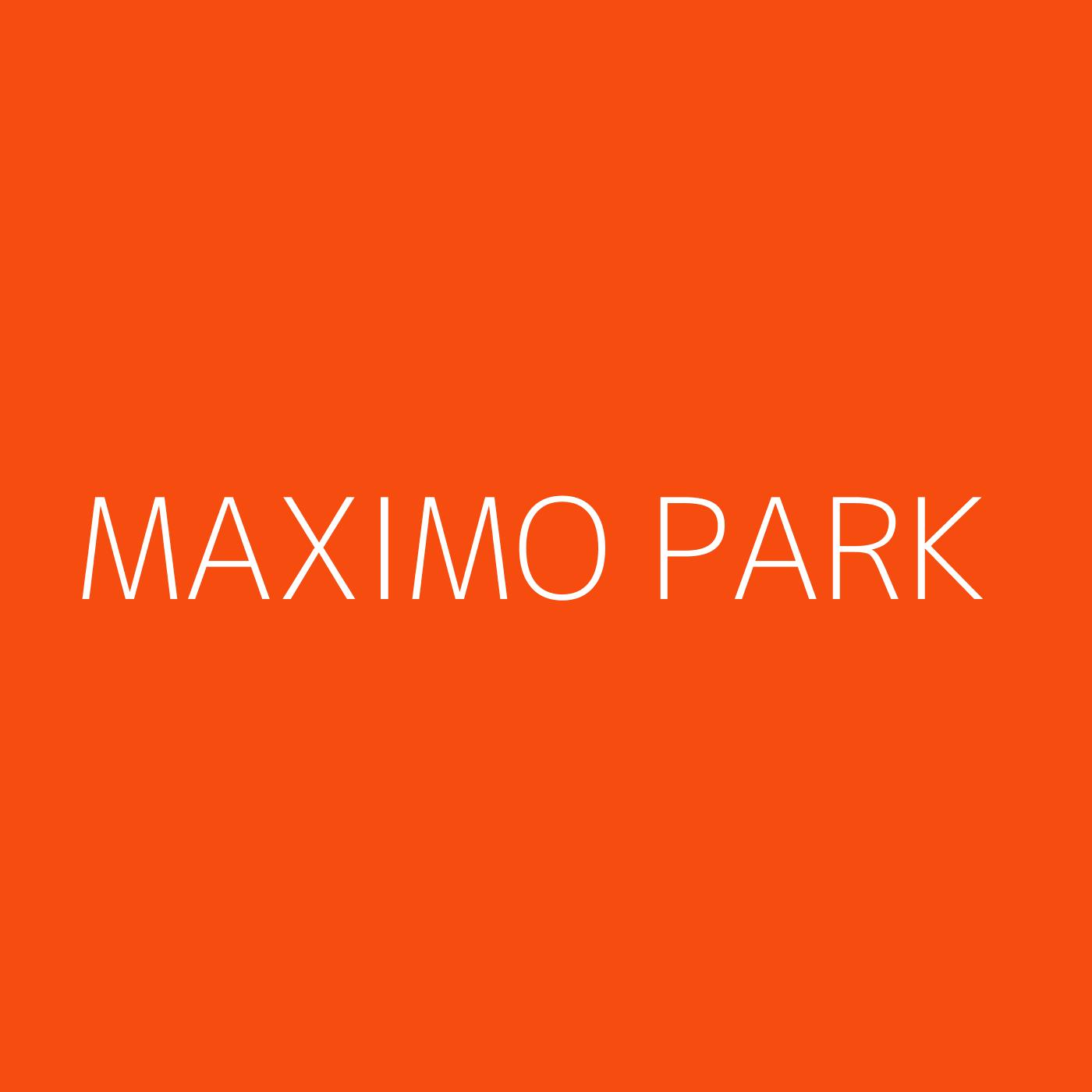 Maximo Park Playlist Artwork