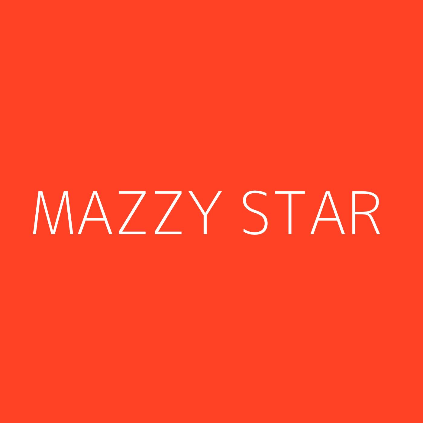 Mazzy Star Playlist Artwork
