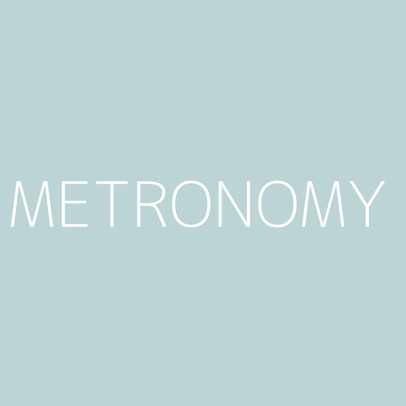 Metronomy Playlist Artwork