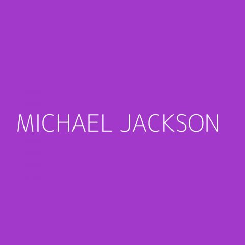 Michael Jackson Playlist – Most Popular
