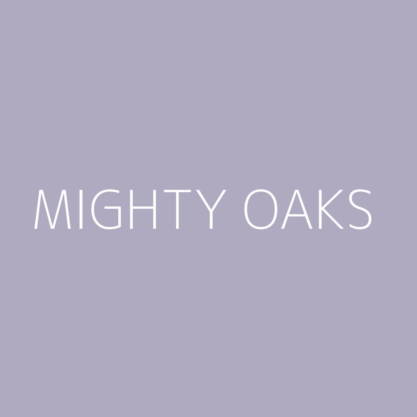 Mighty Oaks Playlist Artwork