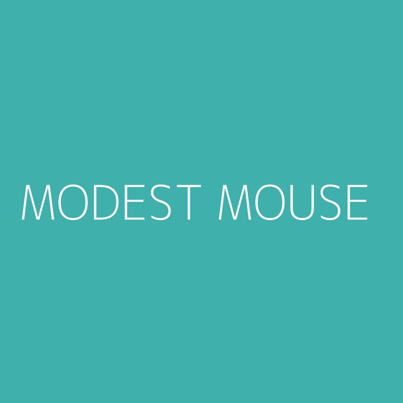 Modest Mouse Playlist Artwork