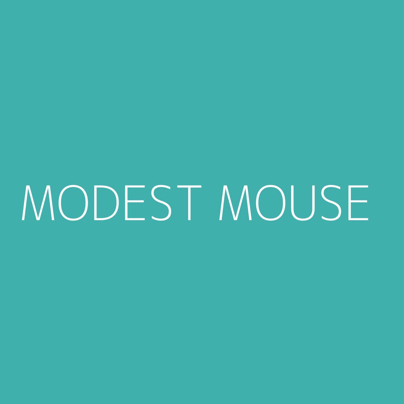 Modest Mouse Playlist Artwork