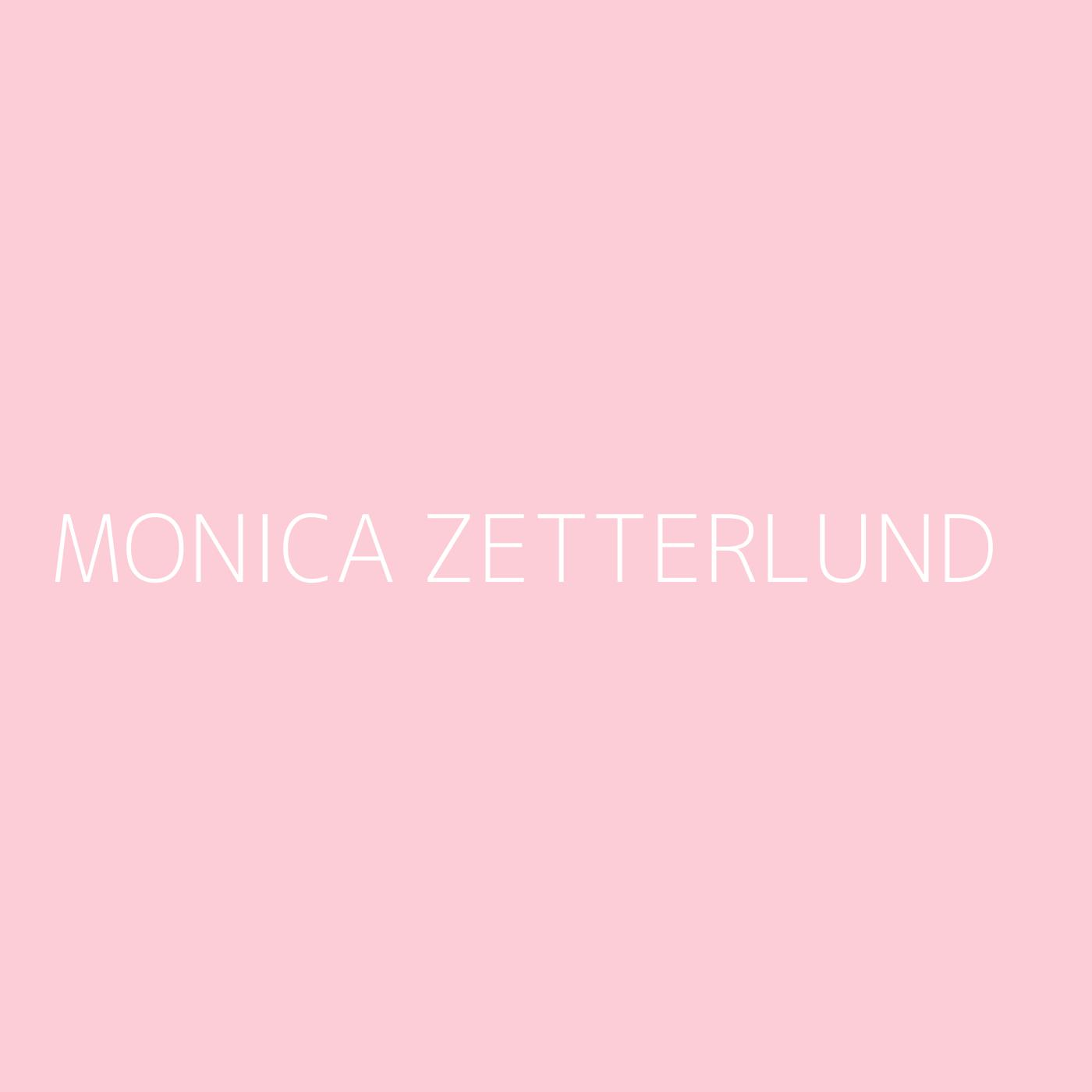 Monica Zetterlund Playlist Artwork