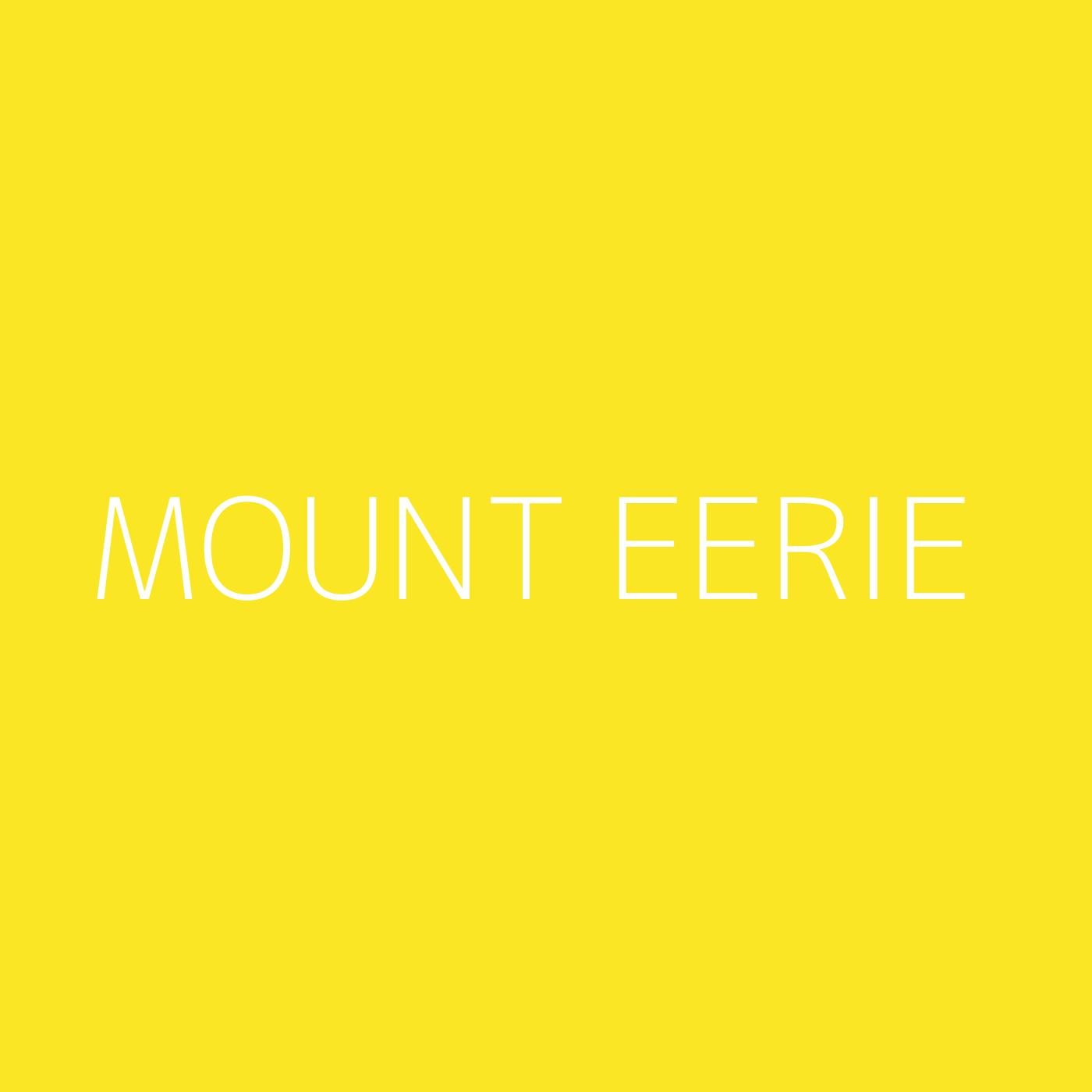 Mount Eerie Playlist Artwork