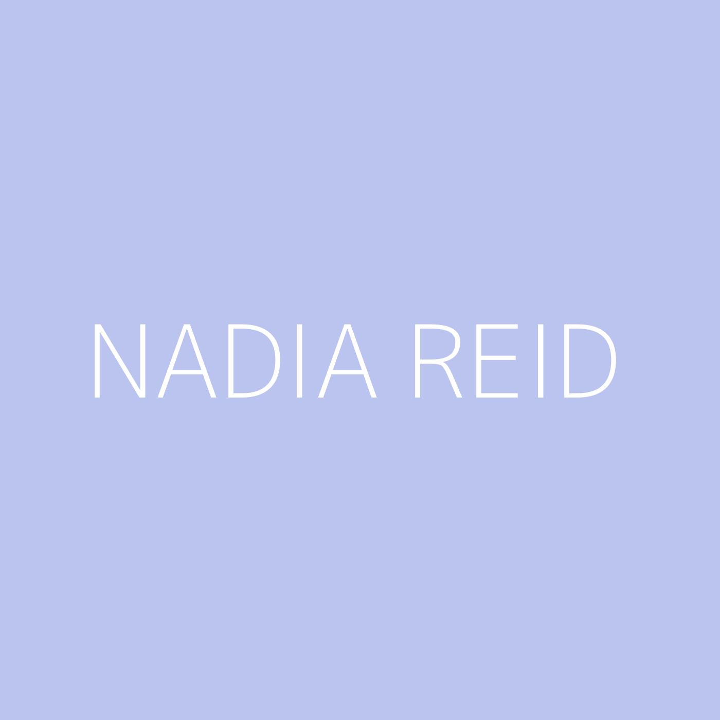 Nadia Reid Playlist Artwork