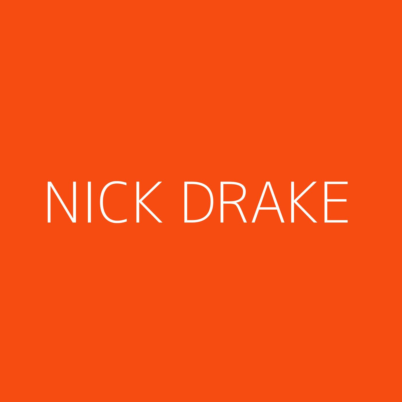 Nick Drake Playlist Artwork