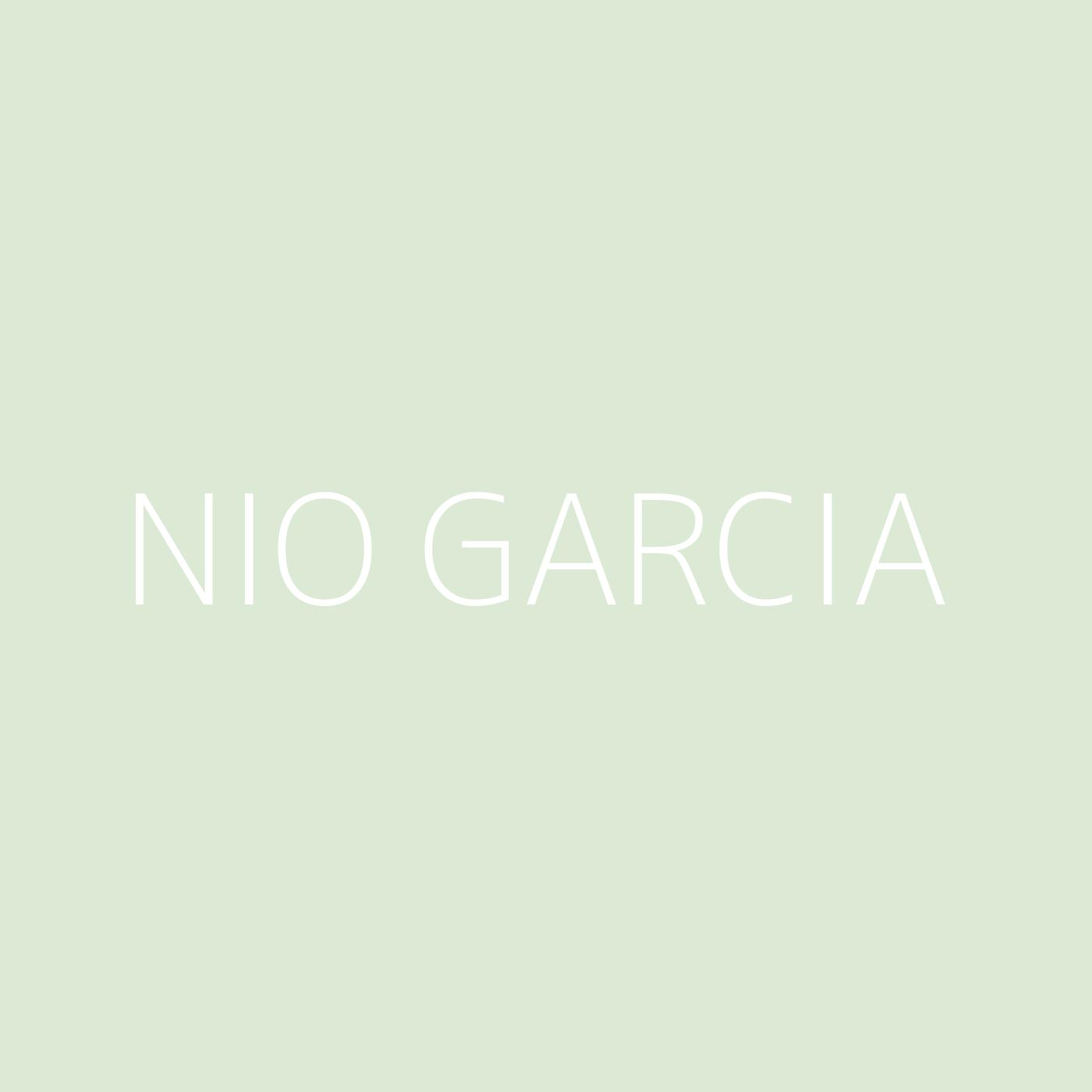 Nio Garcia Playlist Artwork