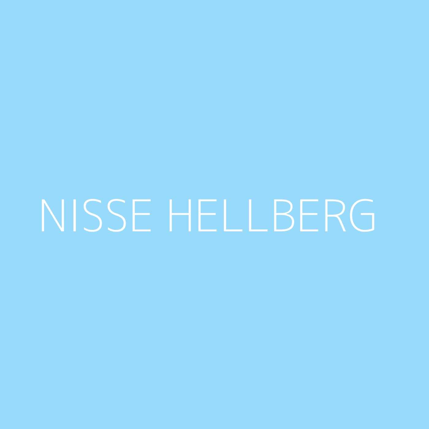 Nisse Hellberg Playlist Artwork