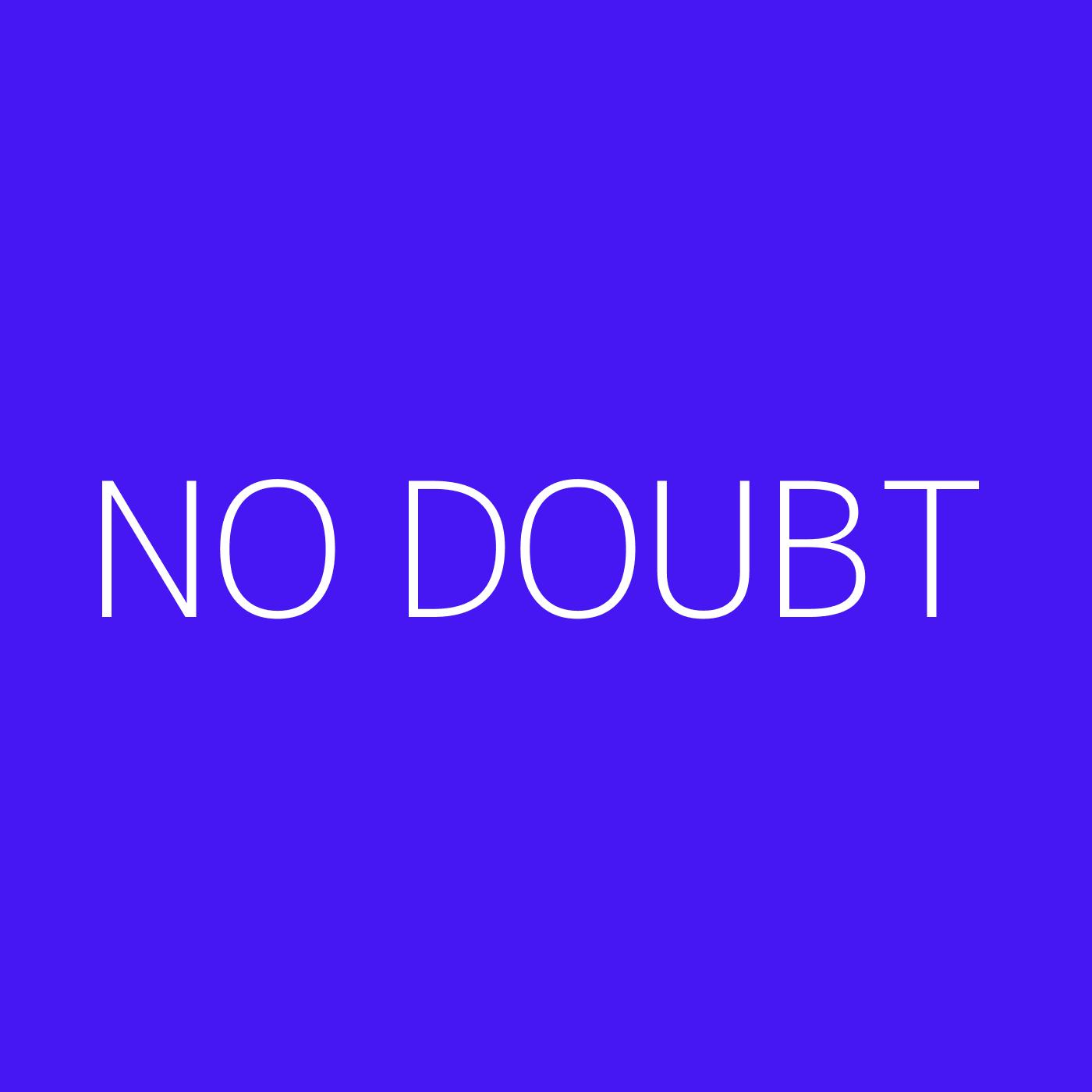 No Doubt Playlist Artwork