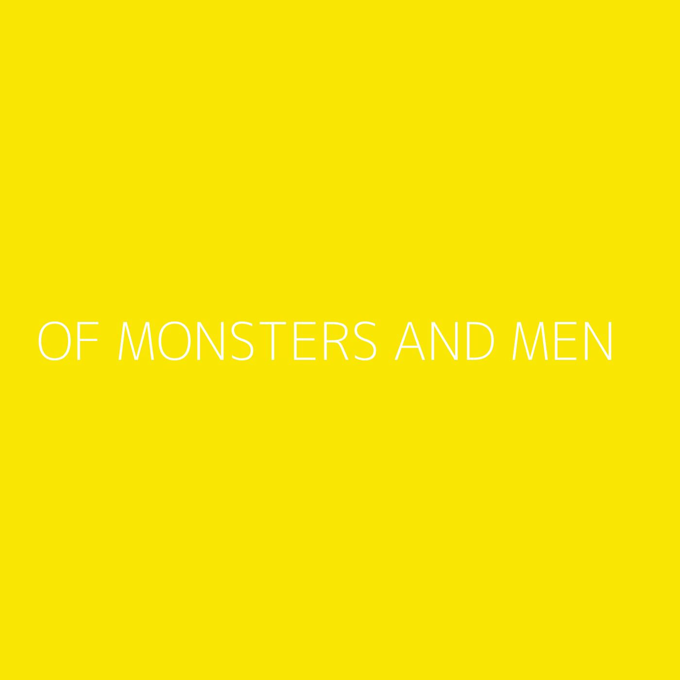 Of Monsters and Men Playlist Artwork